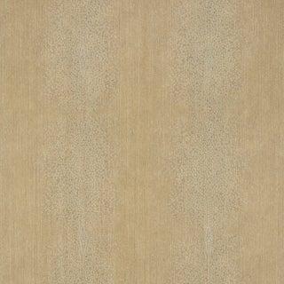 Sample - Schumacher Carlisle Wallpaper in Gold For Sale