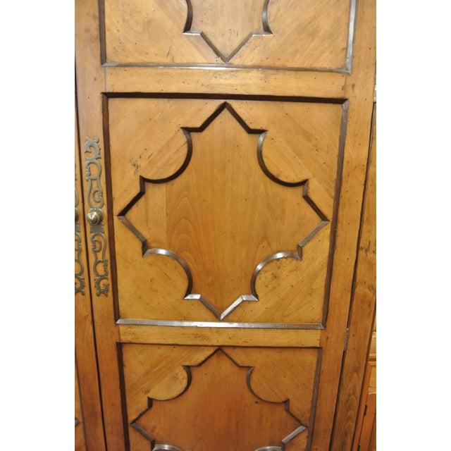Jean Michel Arrigona Alder Wood Carved Armoire - Image 6 of 8