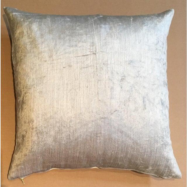 Cream Fabric Pillow - Image 2 of 3