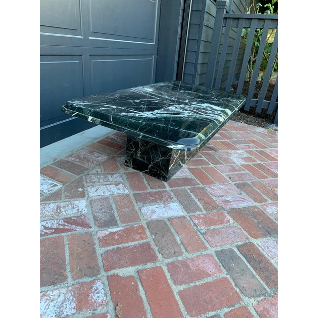 Vintage Italian Marble Coffee Table For Sale - Image 4 of 7
