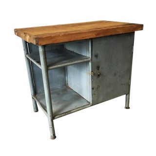Industrial Scrub Top Cabinet For Sale