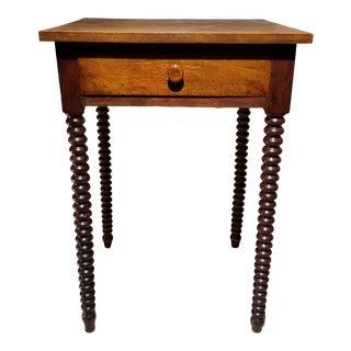 Bobbin Side Table For Sale