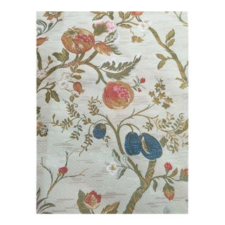 Old World Weavers Lampas Fabric - 3 Yards For Sale