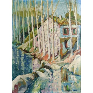 Joan Condins Impressionist Landscape Painting For Sale