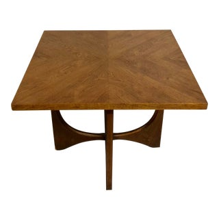 1960s Mid-Century Modern Broyhill Brasilia Walnut Table