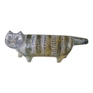 1950s Lisa Larsen Cat Figure from Gustavsberg Sweden For Sale