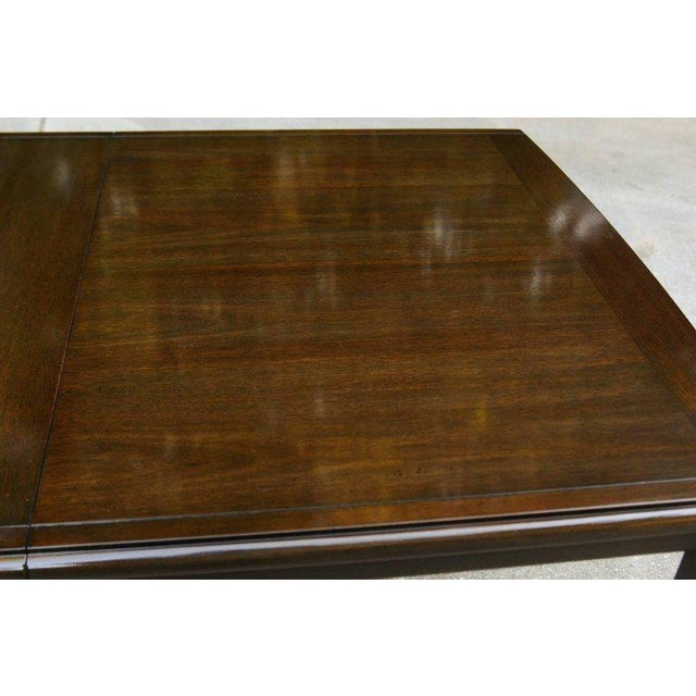 Supremely Elegant Mahogany Extension Dining Table by Widdicomb, circa 1970 For Sale - Image 10 of 11
