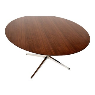 Knoll Round Conference or Dining Table For Sale