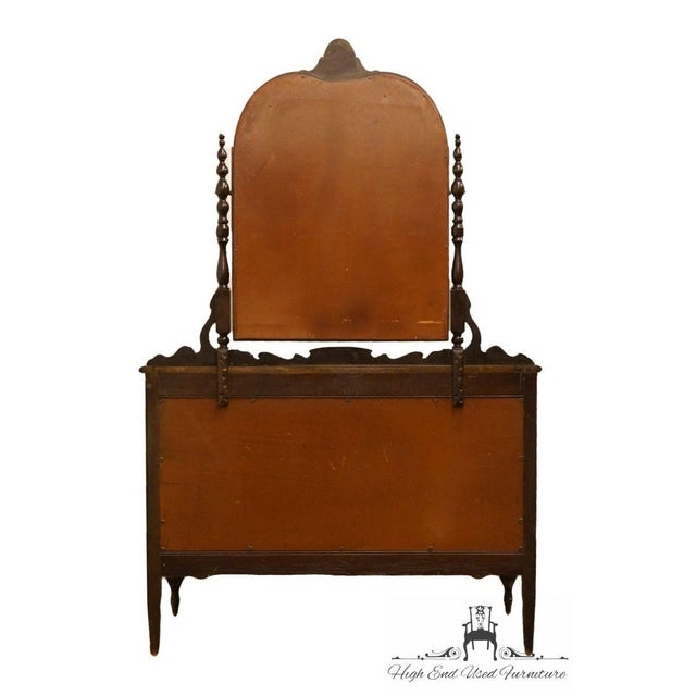 """1960s Traditional Sligh Furniture Co. Grand RapidsMahogany 48"""" Dresser With Mirror For Sale - Image 10 of 13"""