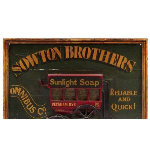 Charming 19th century english trade sign.