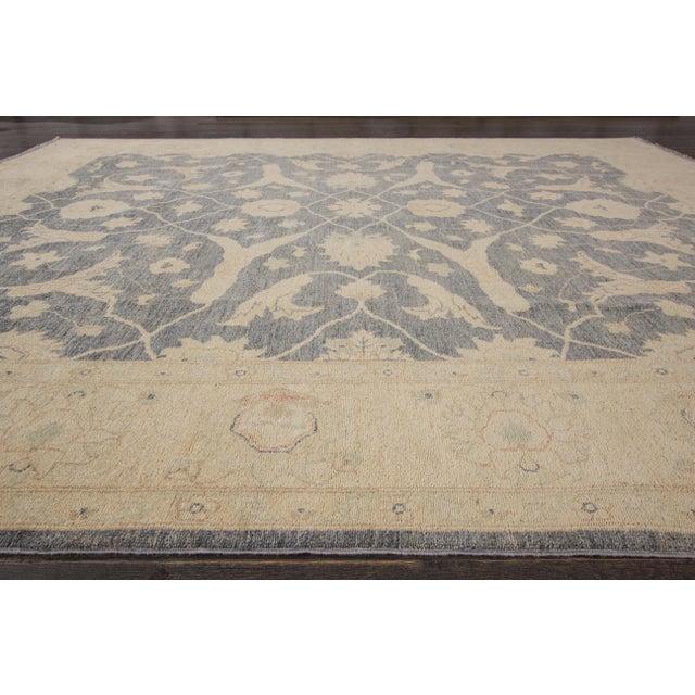 "Textile Apadana Peshawar Ru - 8'1"" x 9'8"" For Sale - Image 7 of 7"