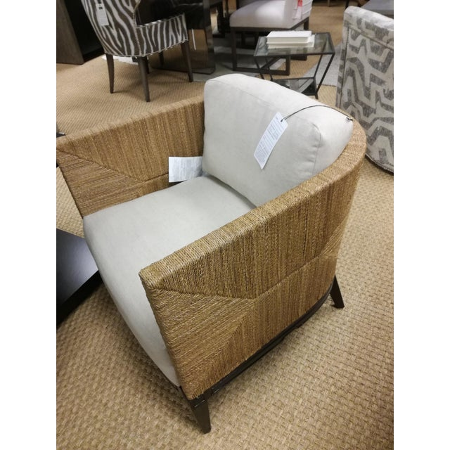 Mediterranean Cameron Lounge Chair by Palacek For Sale - Image 3 of 8