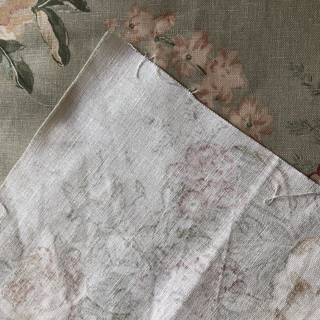 2000 - 2009 Shabby Chic Ralph Lauren Floral Fabric - 3/4 Yard For Sale - Image 5 of 6