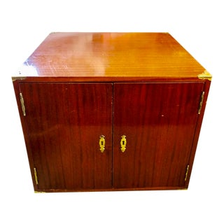 Electric Cigar Humidor End Table For Sale