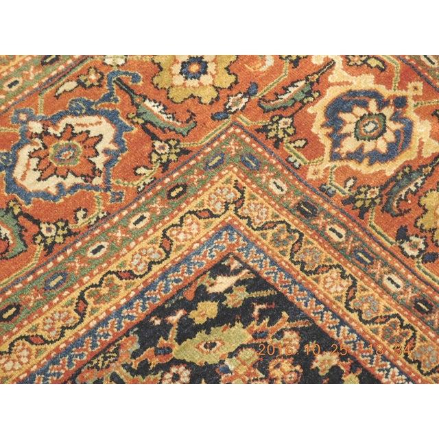 Islamic Vintage Trellis Design Turkish Rug - 8′8″ × 10′8″ For Sale - Image 3 of 8