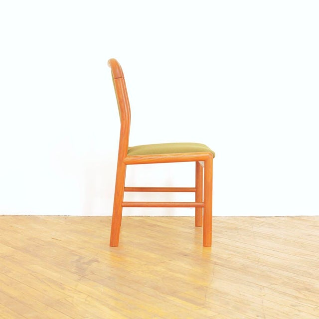 1960s 1960s Vintage Danish Teak Dining Chairs - Set of 6 For Sale - Image 5 of 11