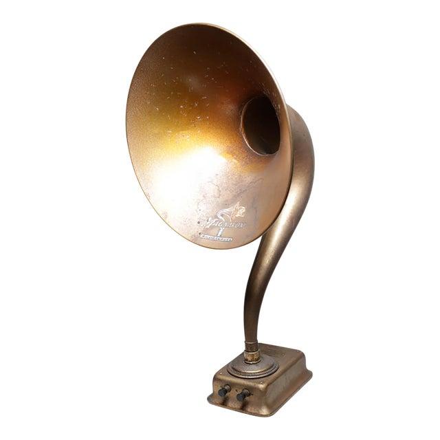 1920s Magnavox Metal Speaker Horn For Sale