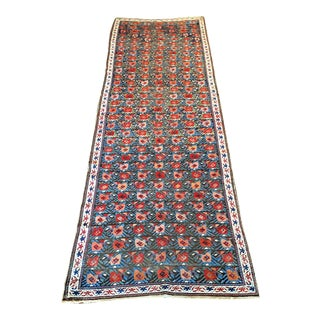 19th Century Caucasian Seylchour Runner Rug For Sale