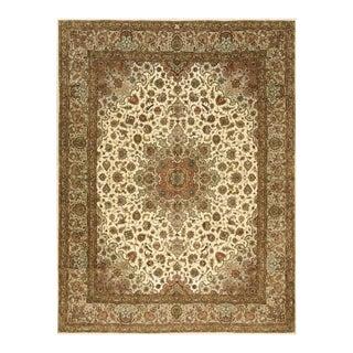 """Vintage Persian Tabriz Rug 8'0""""x 10'6"""" For Sale"""