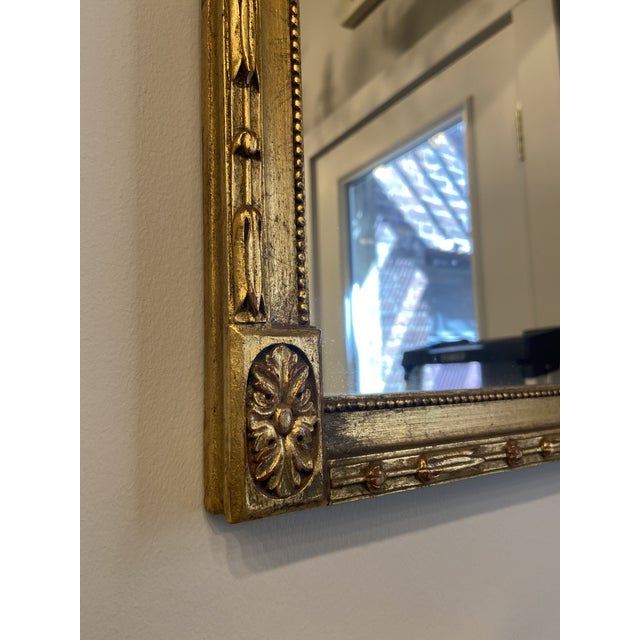 Vintage Hollywood Regency Gilt Accent Mirror For Sale In Boston - Image 6 of 7