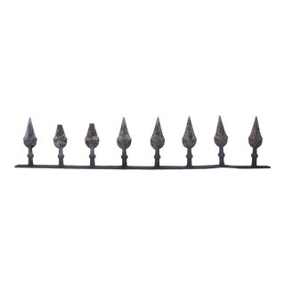Antique French Iron Spear Architectural Element For Sale