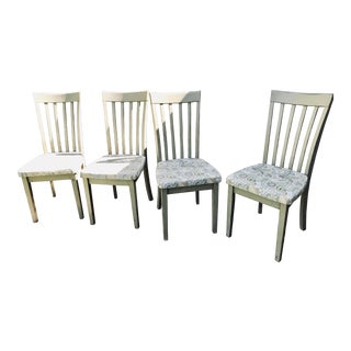 Cottage/Country Style Chateau Gray Chalk Paint Chairs - Set of 4