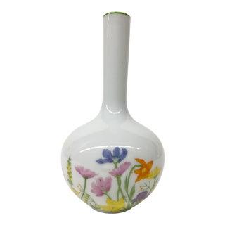1977 Floral Bud Vase For Sale