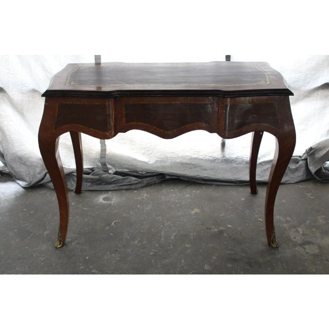 19th Century French Inlay Marquetry Writing Desk For Sale In Atlanta - Image 6 of 7