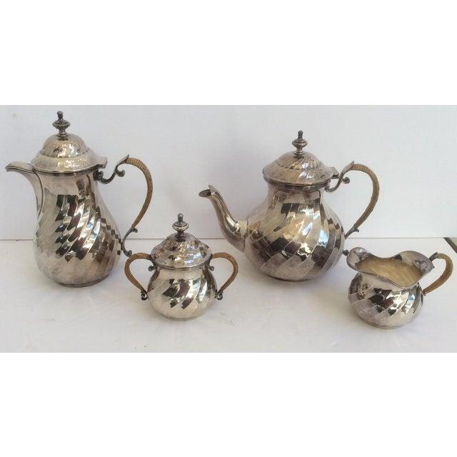 Purity Italian Silver Tea Service - Set of 4 - Image 11 of 11