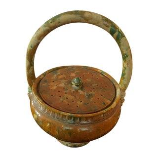 French Pottery Potpourri Basket