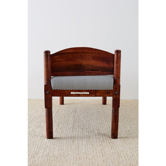 18th Century New England Cherry Daybed or Rope Bed For Sale - Image 9 of 13