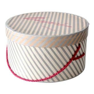 Vintage Berger's Hat Box For Sale