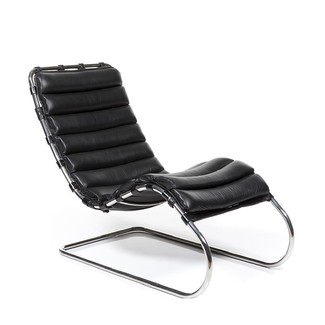 De Haute Qualite Mies Van Der Rohe Mr Chaise Lounge Chair