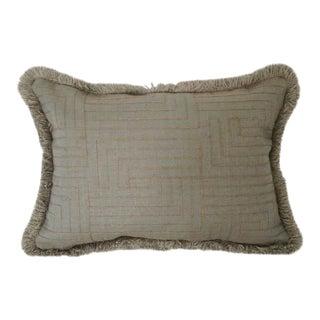 Kravet Ropework Hazel Lumbar Pillow Cover For Sale