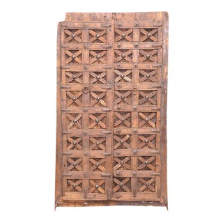 Antique Carved Moorish Door