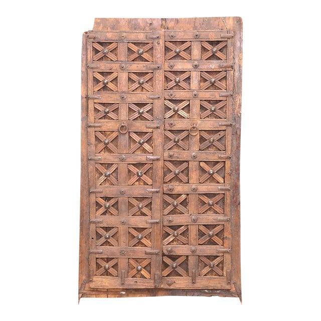 Antique Carved Moorish Door For Sale