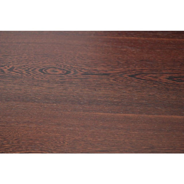 Spencer Fung Custom Wenge Wood Coffee Table - Image 6 of 9