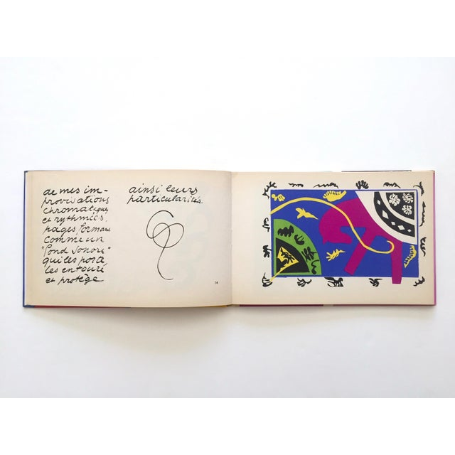 "1960s Henri Matisse "" Jazz "" Rare 1st Edition Vintage 1960 Lithograph Print Museum of Modern Art Collector's Hardcover Art Book For Sale - Image 5 of 13"