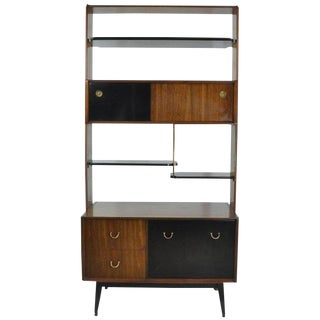 1960s Mid-Century Modern Ib Kofod-Larsen for G-Plan Shelving Divider Unit For Sale