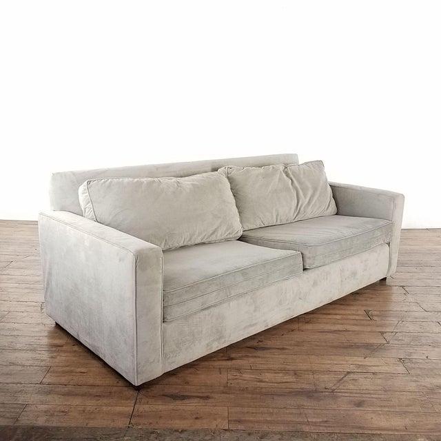 West Elm Henry Sofa. Brand is West Elm. Original Price $899.00. Dimensions (in): 85.0 W x 36.0 D x 33.0 H.