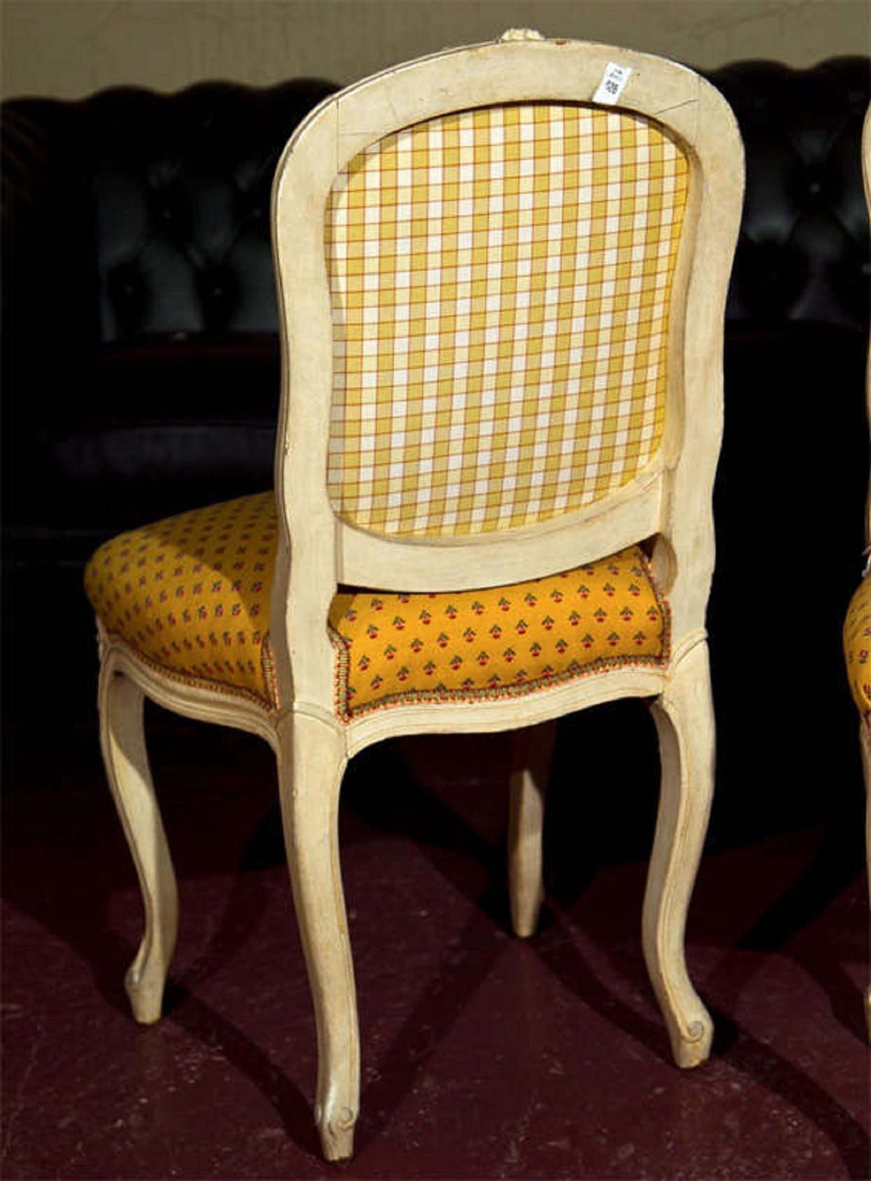 French Louis XV Style Boudoir Chairs   A Pair   Image 5 Of 7