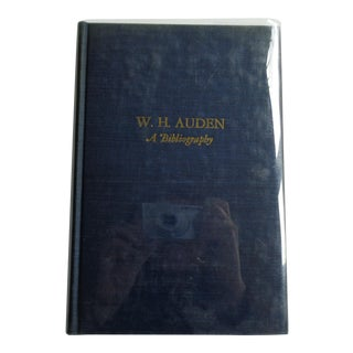 w.h. Auden: A Bibliography Vintage Book For Sale