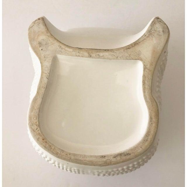 Vintage Ceramic Frog Planter For Sale - Image 10 of 11