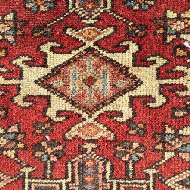 "Vintage Karajeh Persian Rug - 1'11"" X 2'5"" - Image 5 of 9"