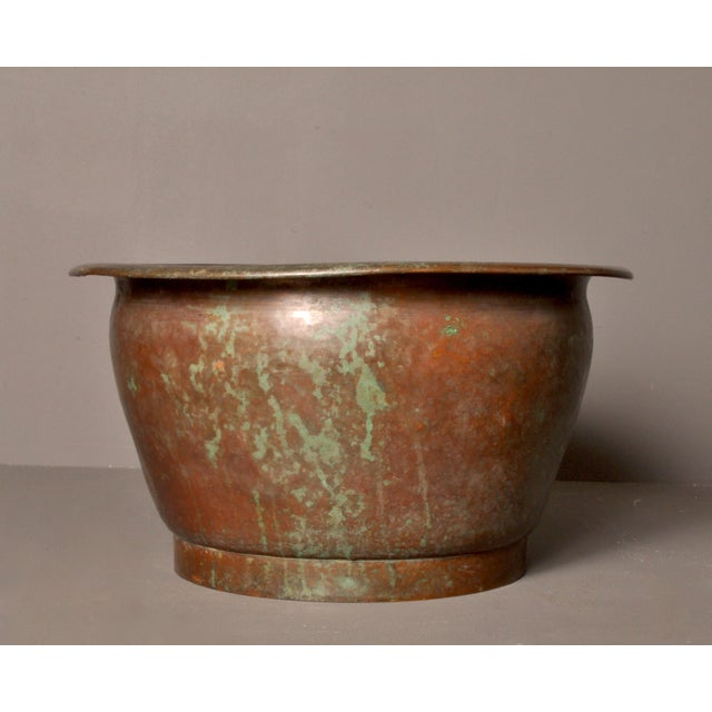 French Hammered Copper Pot, American- 1920s For Sale - Image 3 of 8