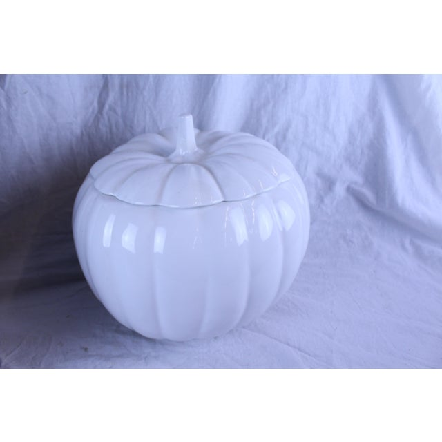 1990s Country Style Pumpkin Planter For Sale In New York - Image 6 of 7