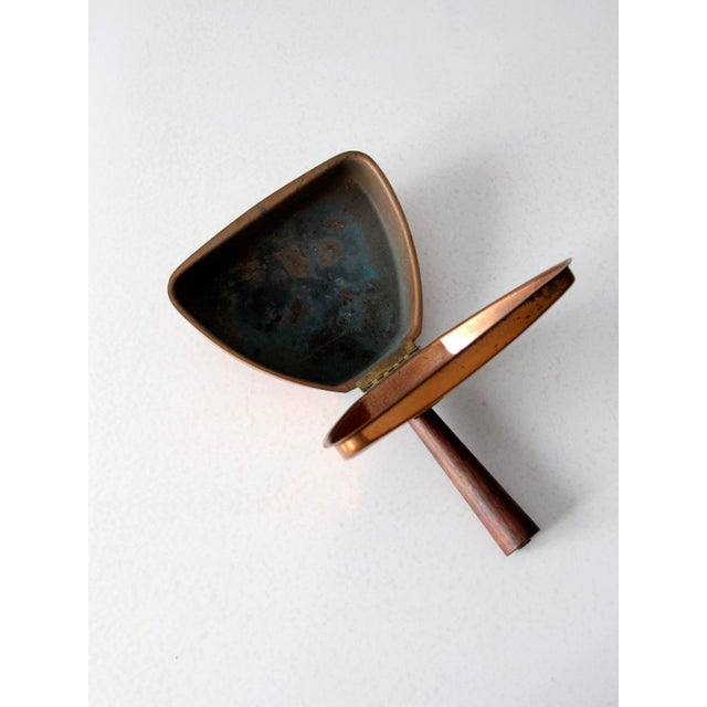 Mid-Century Italian Copper Silent Butler For Sale - Image 4 of 11