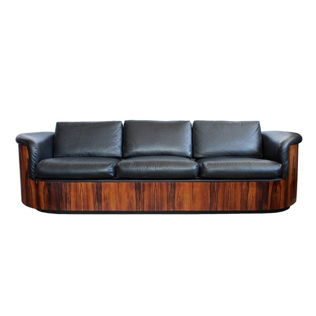 George Mulhauser for Plycraft Rosewood Case Sofa - Image 3 of 11