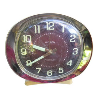 1960s Westclox Big Ben Wind Up Alarm Clock For Sale