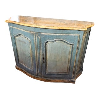 18th Century Painted Credenza For Sale